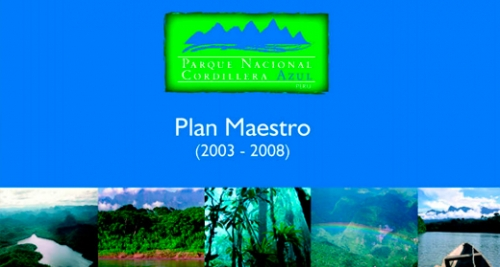 INRENA 2006.Cordillera Azul National Park MANAGEMENT PLAN (2003-2008)