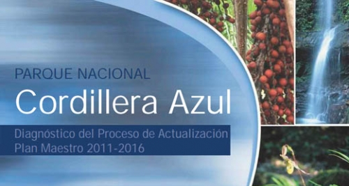 SERNANP 2012. Diagnosis of the Updating of the Cordillera Azul National Park MANAGEMENT PLAN